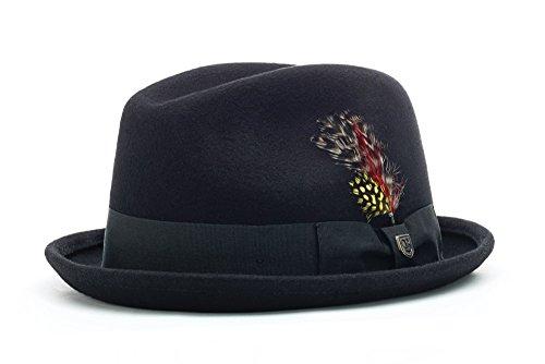 BRIXTON Hat Gain XL schwarz (Black Felt)