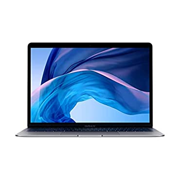 Apple MVFH2LL/A MacBook Air (13, 1.6GHz dual-core Intel Core i5, 8GB RAM, 128GB) Space Gray, Mid 2019