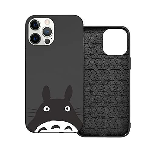 My Neighbor Totoro - Funda para teléfono móvil (poliuretano termoplástico), color negro