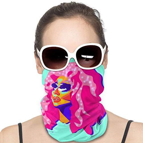 NA Variety Kopftuch Halswärmer Bandanas Outdoor Kopfbedeckung Schal Halstuch Bandanas für Männer und Frauen Bandana Queen Trixie Mattel