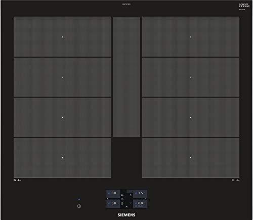 Siemens EX675JYW1E hobs Negro Integrado Con - Placa (Negro, Integrado, Con placa de inducción, Vidrio y cerámica, 3300 W, Rectangular)