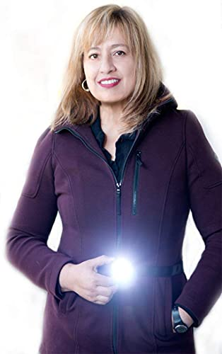 LIGHTWALKER Camping Hiking, Night Running Light with Reflective Belt, Bright LED Light to See & Be Seen, USB Rechargeable, Great for Runners & Dog Walking 29'- 48'