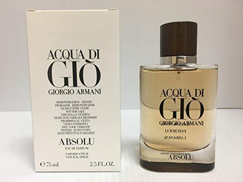 Giorgio Armani Acqua Di Gio Absolu For Men Eau De Parfum Spray, 2.5 Ounce (Tester)