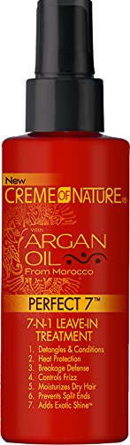 Creme of Nature Argan Oil Perfect 7-in-1 Leave-in Treatment, 4.23 Ounce