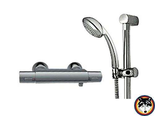 Duschthermostat Renovierungsset clivia neu verchromt m.AP-Brausetherm.u.Brausegarn.VIGOUR