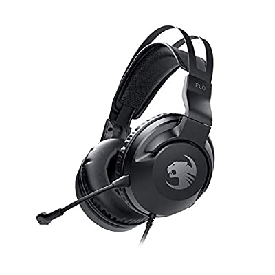 Roccat Elo X Stereo - Gaming Headset for PC, Mac, Xbox, PlayStation & Mobile, black by Roccat