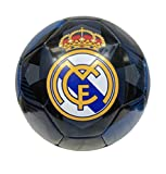 Real Madrid Soccer Ball Size 5 Official Licensed Futbol Navy Gold 2020-2021 Great for Players, Fans, Trainers, Coaches Gift La Liga Espanol
