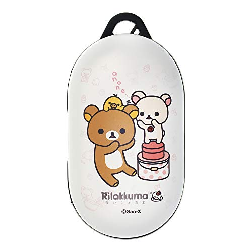 Rilakkuma Compatible with Galaxy Buds Case Galaxy Buds Plus (Buds+) Case Protective Hard PC Shell Cover - Cookie Box