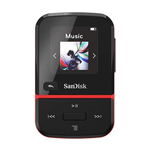 Lettore MP3 SanDisk Clip Go Rosso da 32 GB