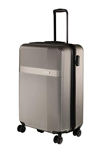 Nasher Miles Fifth Avenue 20 Inch ,Cabin, Expander, Hard-Sided, Polycarbonate Luggage, Grey 55cm Trolley Bag