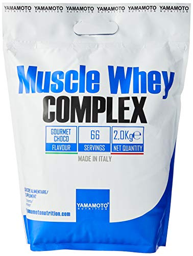 Yamamoto Nutrition Muscle Whey Complex, Gourmet Chocolate, 2.04 kg,P36266