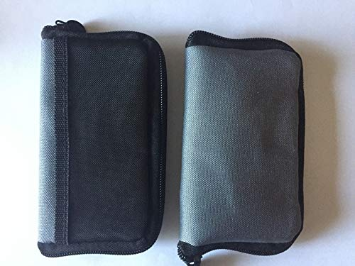 Travel Case for Bayer Contour USB or Contour Next Link Meter Monitor, 2 Pack