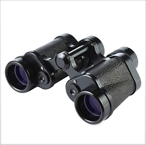 XHLLX Prismáticos 8X30,62 Tipo Telescópico Doble Cylindertelescope, Que Van, Todo El Metal, De Alta Magnificación, Gafas para Adultos, Engranaje Al Aire Libre, Brillo, Portátil