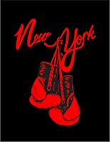 【FOX REPUBLIC】【ニューヨーク ボクシング】 黒光沢紙(フレーム無し)A2サイズ