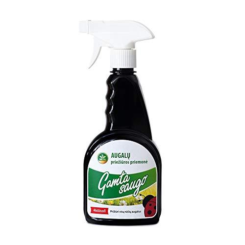 Bio nawóz w sprayu - uniwersalny nawóz do roślin zielonych, palm, balkonowych, tarasowych - organiczny płynny nawóz - bio nawóz do kwiatów w ogrodzie, balkonie, do wnętrz