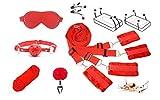forocean Tengo Todo lo Que Quieres 6 Pcs Juguetes Traje Toy Bońdáge B-D-S-M Toy Flirt Juegos para Parejas