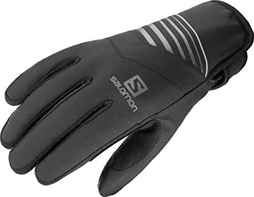 Salomon Unisex Leichte Lauf-Handschuhe RS WARM GLOVE U, Schwarz (Charcoal), Gr. XL, LC1184800