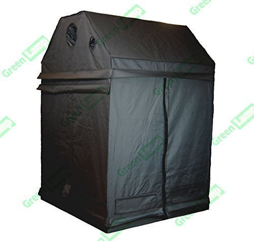 Green Lamp Premium Loft 120 x 120 x 160cm 600D Mylar Indoor Attic Grow Tent Box Hydroponics Dark Room