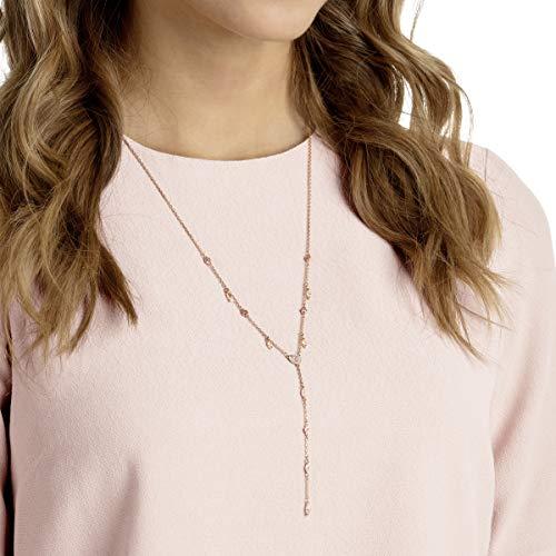 Swarovski Collana A Y One, Multicolore, Placcato Oro Rosa