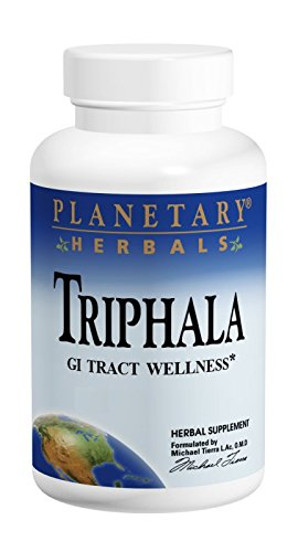 Planetary Herbals Triphala 1000mg - 180 Tablets (Pack of 2)