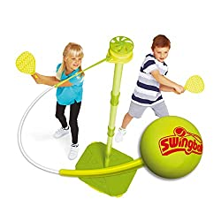 Designed with younger children in mind, Early Fun Swingball comes with a tangle free spinner Comes with a foam ball to avoid any injuries and lighter 'little hands' bats with smaller handles and a larger face to help them hit the ball Swingball isn't...