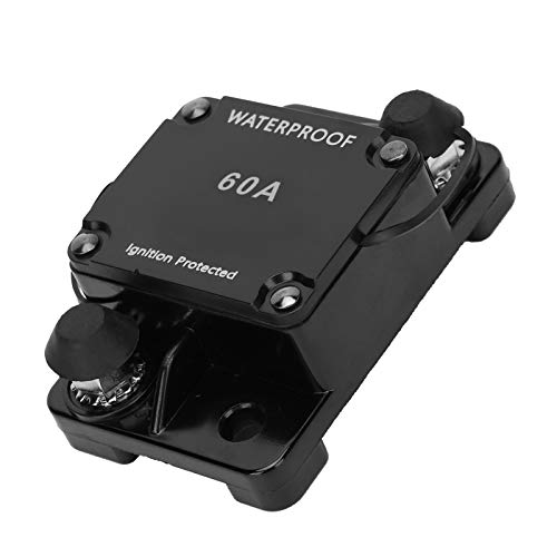 Weikeya Interruptor de Circuito a Prueba de Agua, -32 ℃ -82 ℃ DC12-24V 2.8 x 7.9 x 4.8 CM Transformador de Control Industrial Cobre