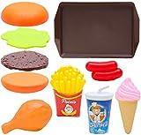 Toyland® Set da gioco da 10 pezzi per fast food