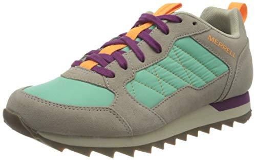 Merrell Women's Alpine Sneaker, MOON/MINT, 5.5