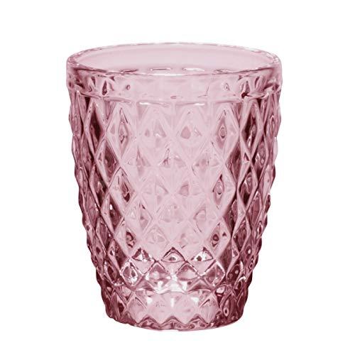 Table Passion - Gobelet diamant lilas 27.5 cl (lot de 6)