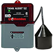 SJE Rhombus 1038035 Tank Alert EZ- TaEZ-01Ltb, 120 VAC with 15' SJE Signal Master Low Level Terminal Block
