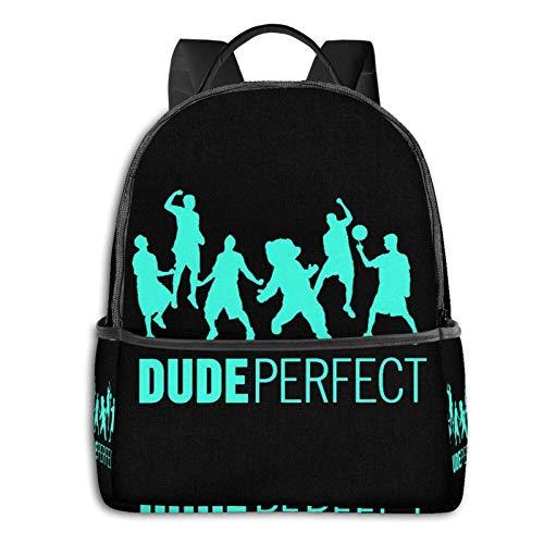 AOOEDM Backpack Du Trick Shots Mochila Delgada para computadora portátil con Puerto de Carga USB, Bolsa de Negocios para Viajes, Universidad, Escuela, Mochila Informal para Hombres y Mujer