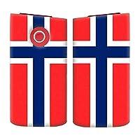 glo2 mini グロー2 ミニ シリーズ2 国内生産 日本製 電子タバコ 専用 薄型 ハード 国旗柄 040 ノルウェー
