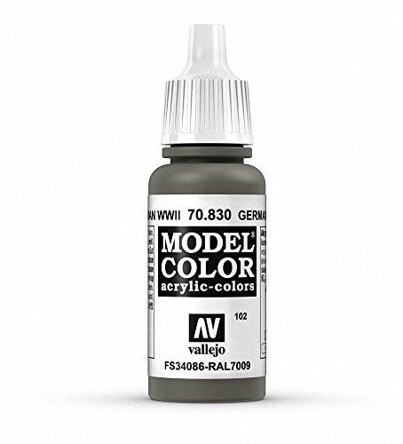 Vallejo, Model Color, Acrylfarbe, 17 ml Deutscher Feldgrauer Weltkrieg II