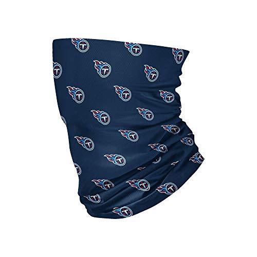 FOCO Unisex Adult NFL Team Logo Neck Gaiter Multiuse
