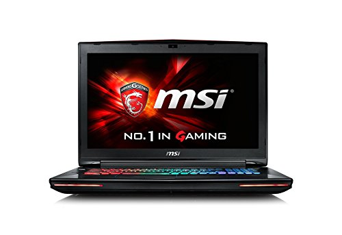 MSI GT72-6QD81 43,9 cm (17,3 Zoll) Laptop (Intel Core i7 -6700HQ (Skylake), 8GB DDR4 RAM, 1TB HDD, NVIDIA Geforce GTX 970M, Win 10 Home) schwarz