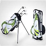 LANGWEI Bolsas para Palos De Golf para Hombres Y Mujeres, Bolsa para Soporte De Golf con Divisor De 6 Vías | Soporte Ultraligero Bolsas Pesadas con...