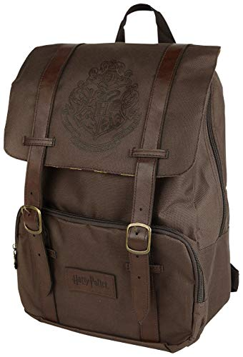 HARRY POTTER GR91794, Mochila Flap Hogwarts Over, Unisex, Multi, talla única