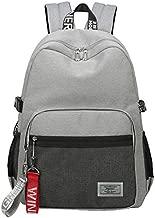 Classic Backpack Haversack Travel School Bag Student Simple Daypack Bookbag by Mygreen(Gray)