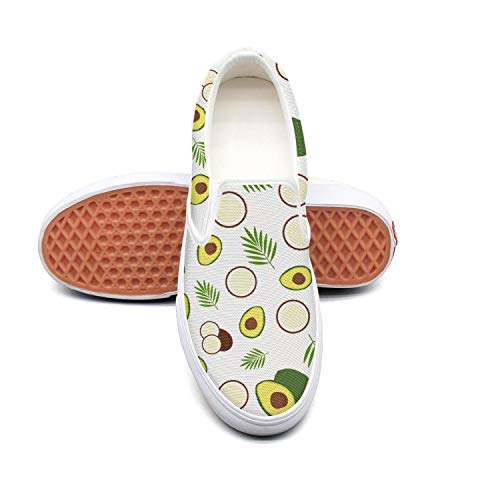 Vosda Women Avocado Sticker Avocado Accessories Walking Shoes for Mens Wear-Resistant Best Running Shoes