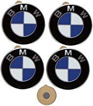 BMW Genuine Wheel Center Cap Emblems Decals Stickers 45mm