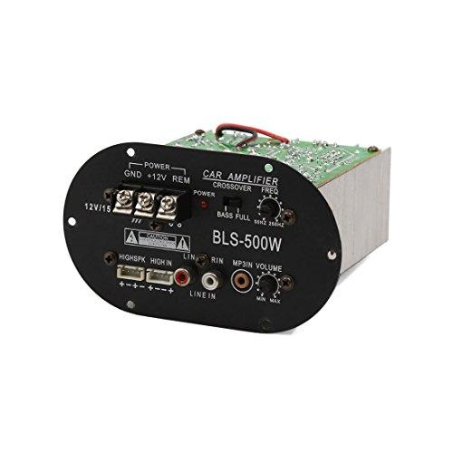 DealMux 6-10 Pulgadas Coche subwoofer Audio del Altavoz del Amplificador de energía de 12V 500W Junta