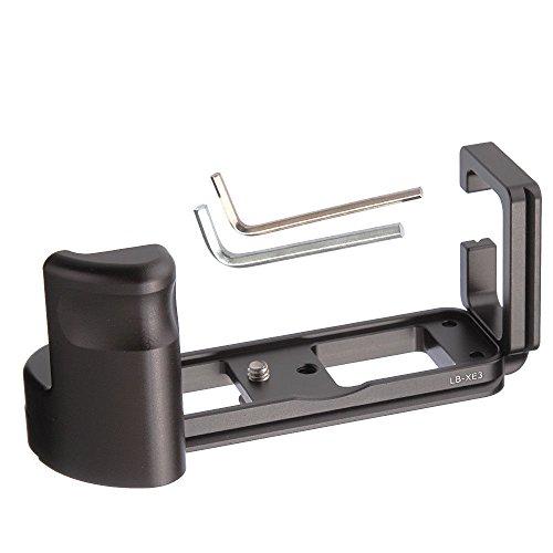 Quick Release L Bracket Platte Handgriff Grip für Fuji Fujifilm x-e3 XE3 Kamera, Benro Arca Swiss Stativ Kopf