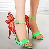 Zoom IMG-2 bazhahei farfalla sandali donna tacco