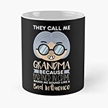 They Call Me Grandma - Grandmother Grandparents Classic Mug 11 Oz Coffee Mugs Ceramic The Best Gift For Holidays, Item Use Daily.