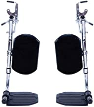 9000 SL Stock Front Rigging Options Front Rigging Option: Hemi Elevating Legrests/Aluminum Plates/Padded
