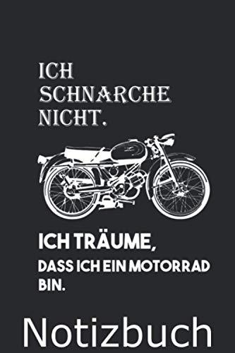 Moto Guzzi Notizbuch: Moto Guzzi Notizbuch 120 Seiten Geschenkidee Weihnachten Motorrad