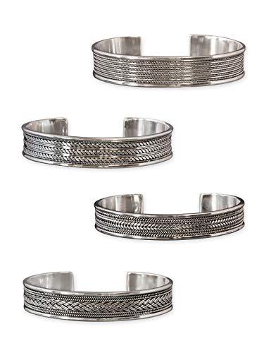 Fly Style 925 Silber Armspange - Keltische Knoten I verschiedene Modelle brsi014, Modell:Freyja