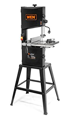 """WEN 3962 Two-Speed Band Saw with Stand and Worklight, 10"""" by Great Lakes Tool MFG INC"""