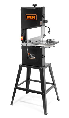 WEN 3962 Two-Speed Band Saw with Stand and...