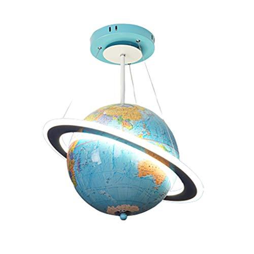 Hanglamp Retro Globe hanglamp kinderkamer woonkamer creatieve cartoon LED oogbescherming kroonluchter plafondlamp